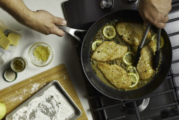 chicken cooking with farberware
