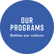 our programs define our culture logo